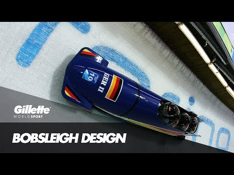 Bobsleigh Aerodynamics with Team Germany | Gillette World Sport