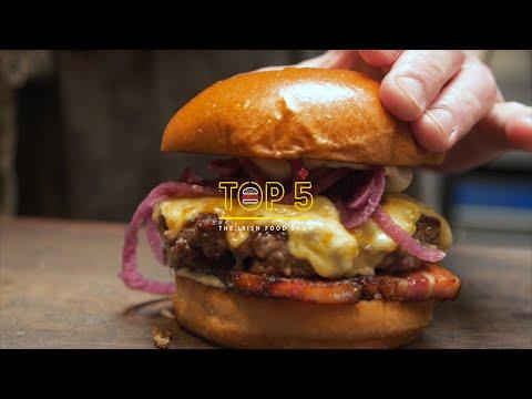 TOP 5 burgers in Dublin | TOP 5 FOOD SHOW