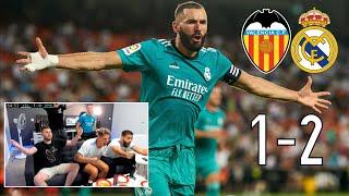 VALENCIA 1-2 REAL MADRID | REACCIONANDO CON GRITOS