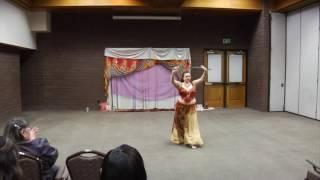 Sword Bellydance improvisation by Miss Thea
