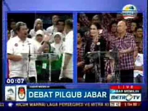 Debat Kandidat PILGUB JAWA BARAT - Metro TV (part 7-8)