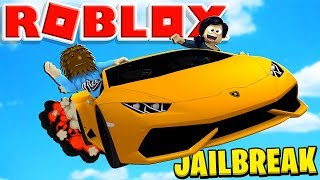 *NEW* FLYING CAR | ROBLOX JAILBREAK ROLEPLAY