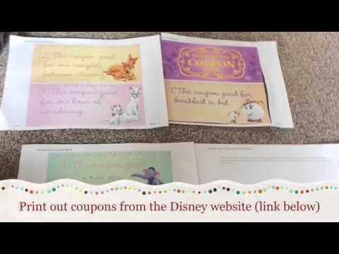 how to make a coupon book