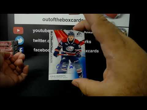 Out Of The Box Group Break #7431- 2019-20 CHL SP Game Used Edition (2 Box) 8 Spot Hit Draft (PART 1)