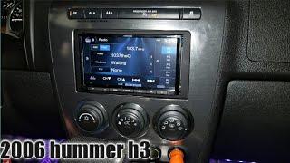 2006 hummer h3 radio removal / Kenwood install