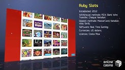 Secrets of the game in Ruby Slots casino: review by OnlineCasinoBOX.net