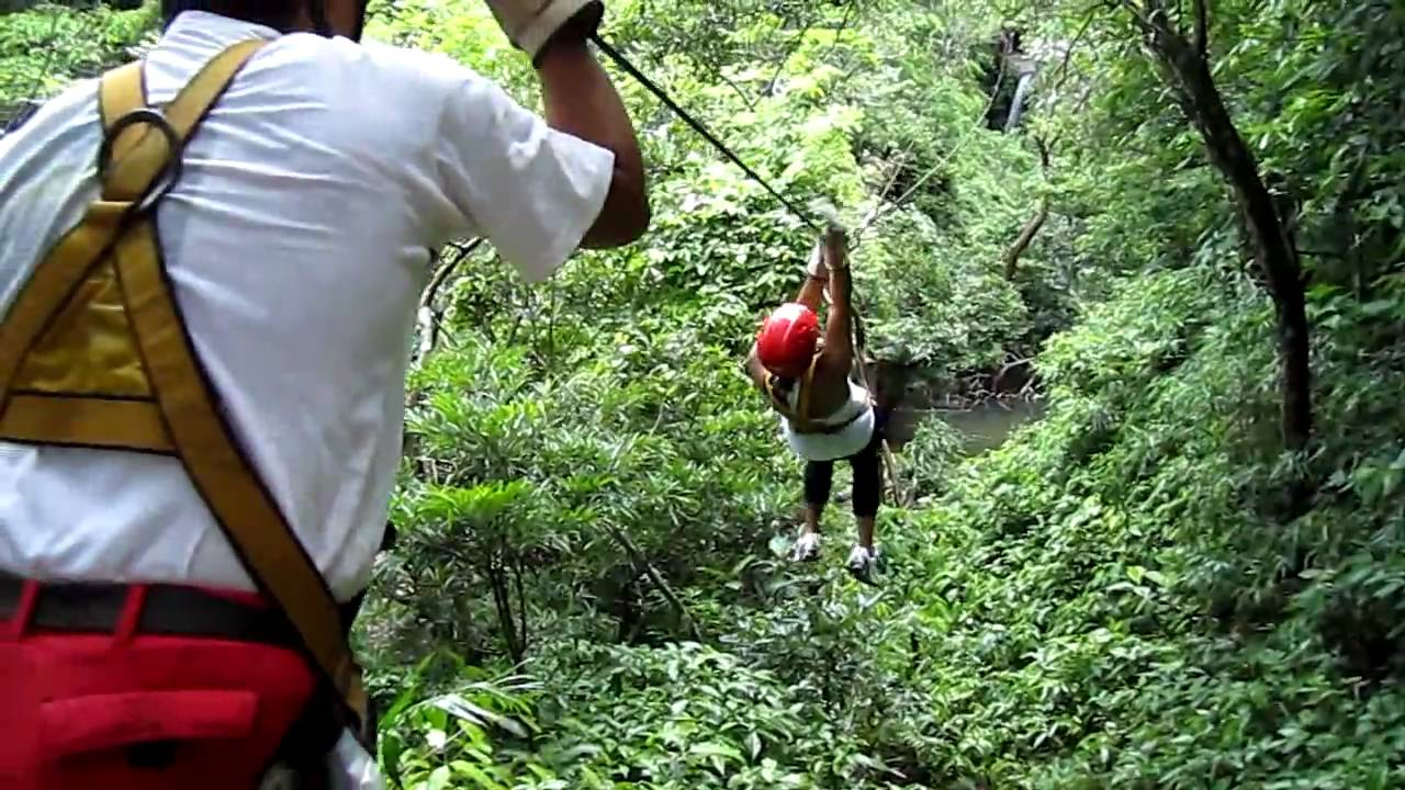 Costa Rica Canopy Tour Zip Line And Wedgie Youtube