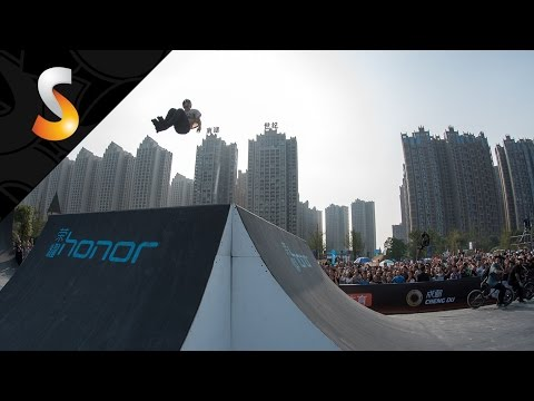 REPLAY Final Roller Freestyle Park Pro - FISE World Chengdu-China 2016
