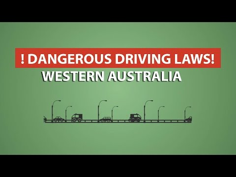 Dangerous Driving Laws in Western Australia I Go to Court Lawyers