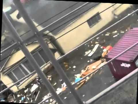 2011 Japan Tsunami: Tagajo [stabilized with Deshaker]