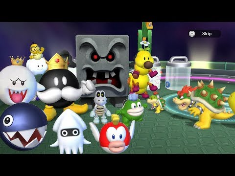 Mario Party 9 - All Bosses (Master Difficulty)