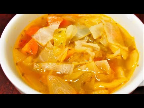 Lose 10 lbs in 1 week Cabbage Soup Diet Recipe | Cabbage Wonder Soup | Cabbage soup