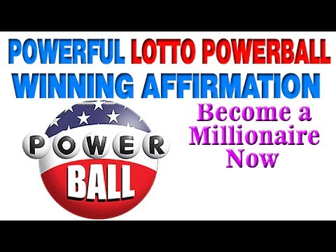 Powerful Lotto Powerball Winning Affirmation Become Millionaire Now
