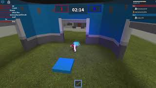 playing capture the flag in roblox with friend