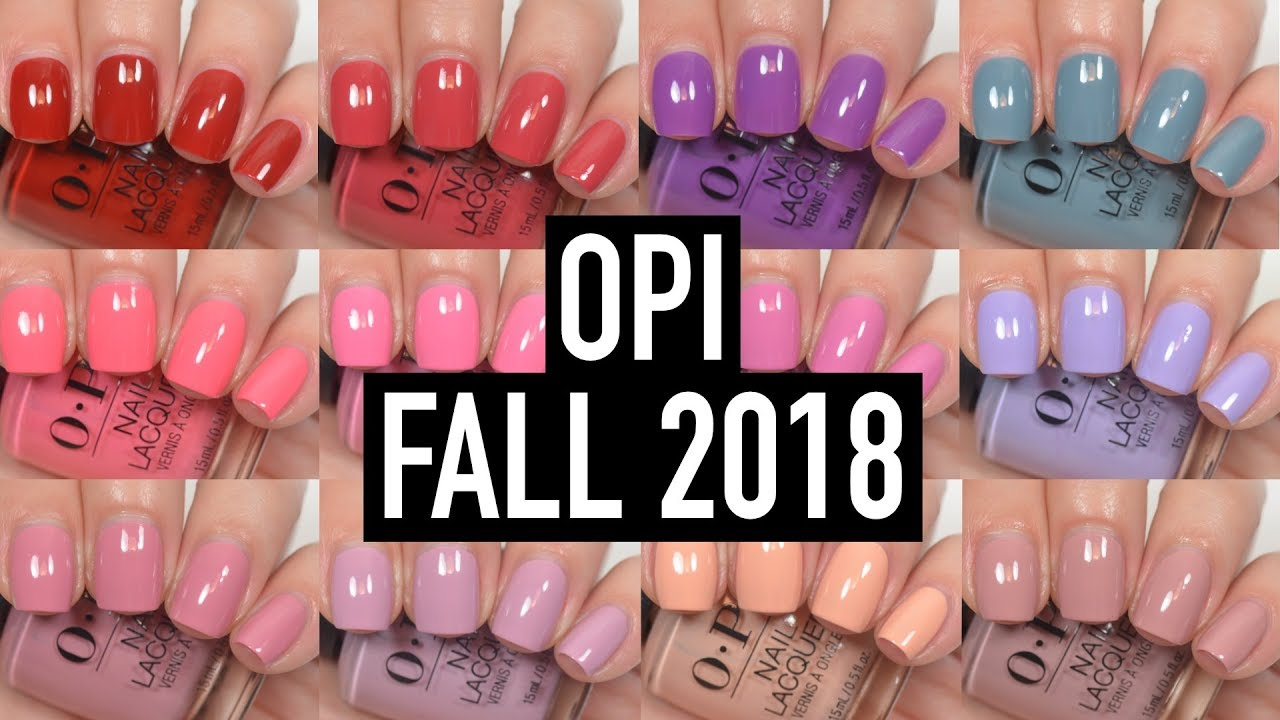 Opi Peru Fall 2018 Ulta Sally S Exclusives Swatch And