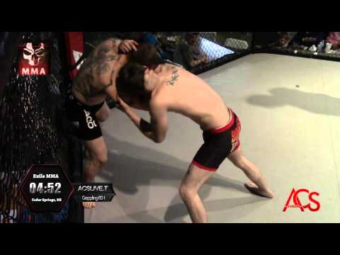 Exiled MMA ANARCHY Grappling Exhibition Jeremy Czarnecki Vs Devin Dann