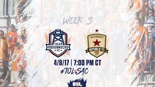 Tulsa Roughnecks FC vs Sacramento Republic FC full match