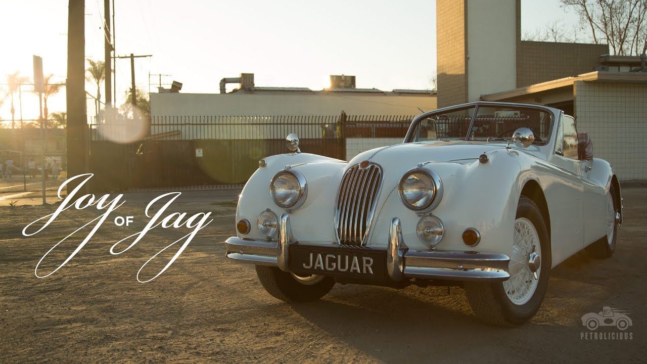 The Joy of the Jaguar XK140 Comes in Driving It