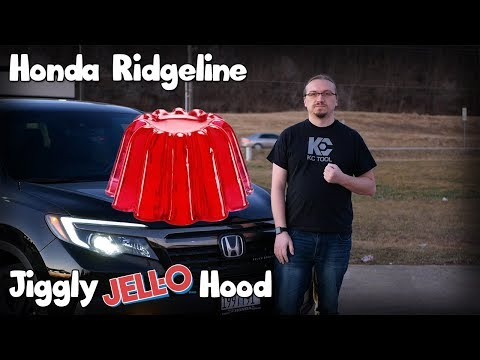 Gen 2 (2017+) Honda Ridgeline Hood Jiggle