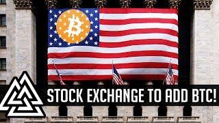 NYSE To Trade Bitcoin! Goldman Adds Bitcoin Trading Desk!