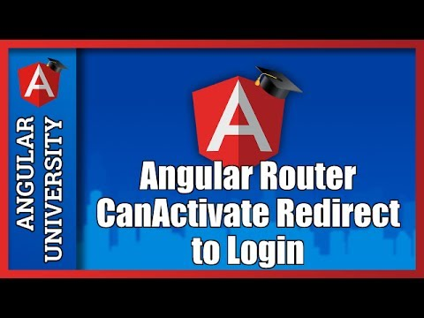 💥 Angular Router Guards - CanActivate - Auth Guard - Redirect to Login