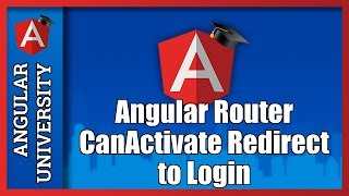 angular router guards canactivate auth guard redirect to login