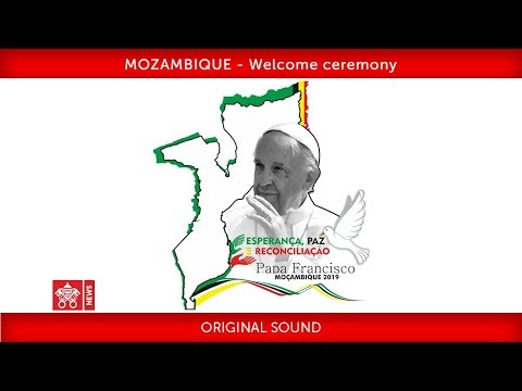 Pope Francis-Maputo- Welcome Ceremony 2019-09-04