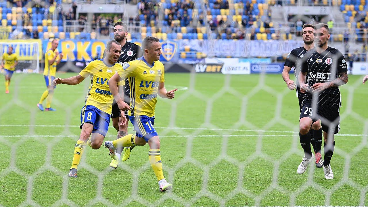 Arka Gdynia - ŁKS Łódź 3-2: Kulisy meczu