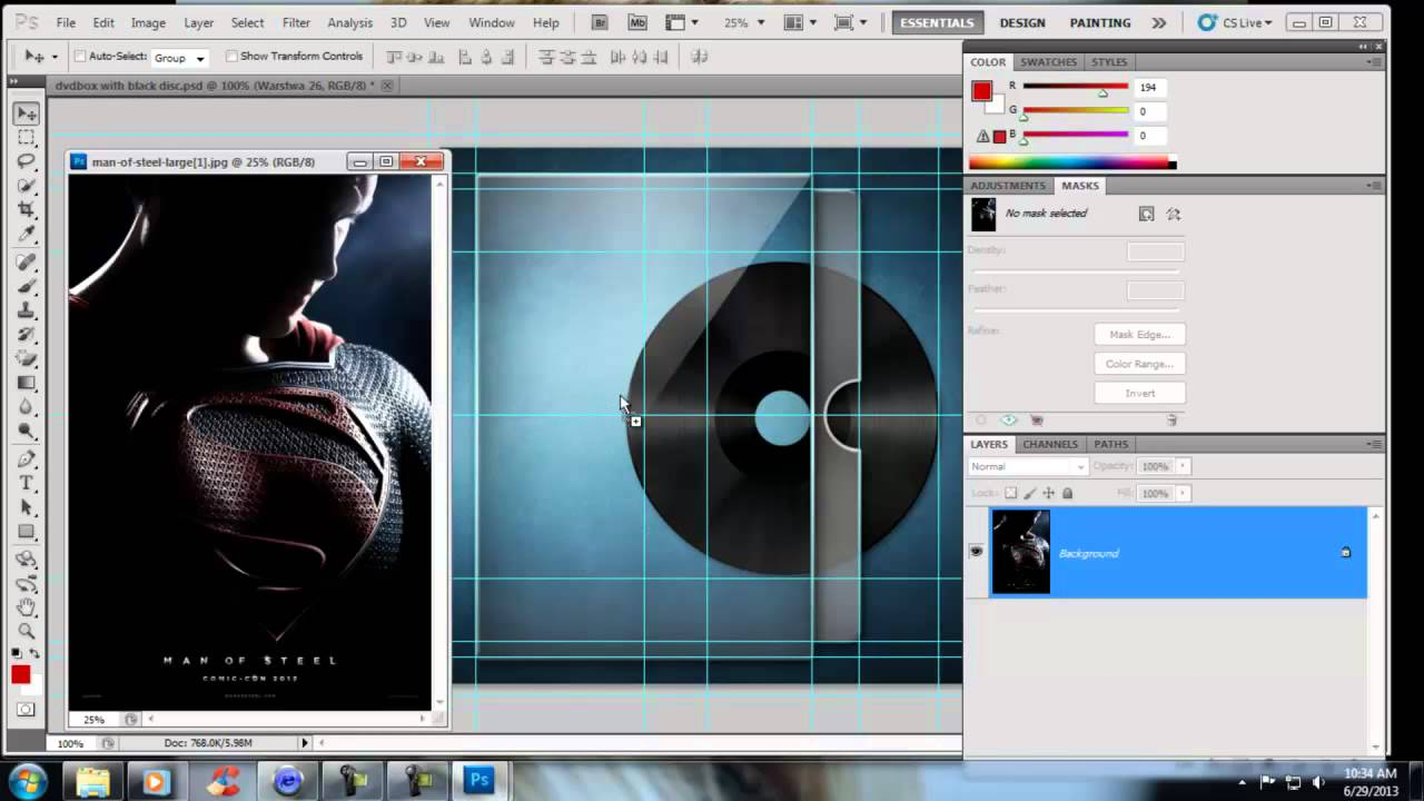 how to make folders in photoshop