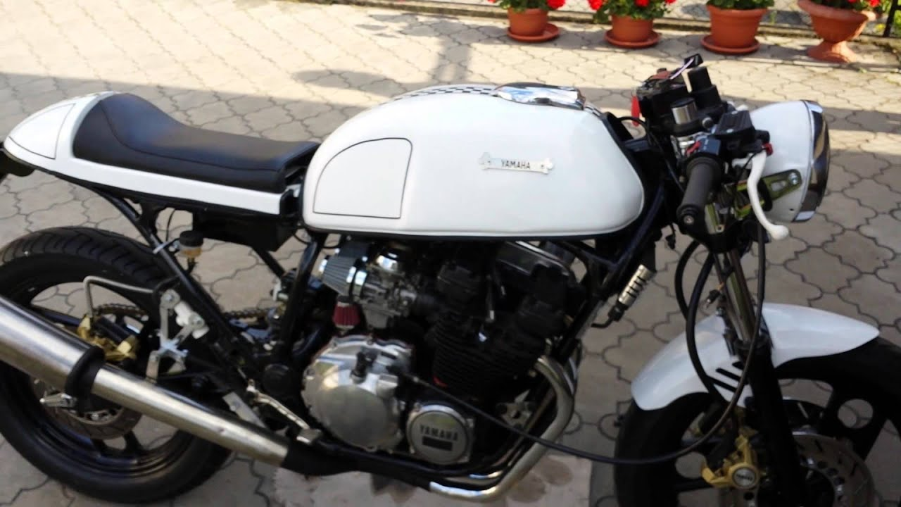 yamaha xj600 cafe racer youtube. Black Bedroom Furniture Sets. Home Design Ideas