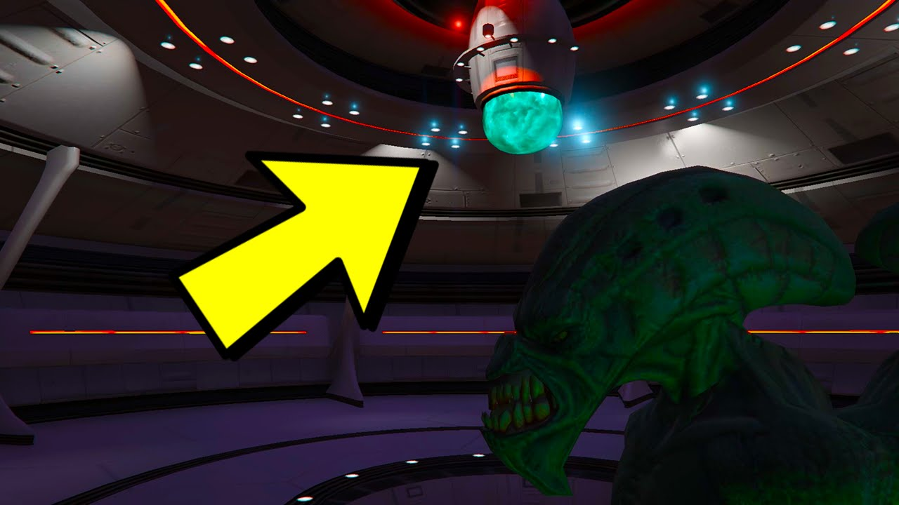 GTA 5  SECRET UFO INTERIOR  Whats Actually Inside The