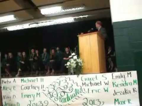 Awards, Scholarships, a Song, and Diplomas Selkirk High 2013