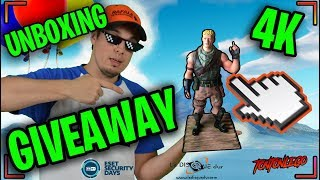 GIVEAWAY COFFRET FORTNITE JONESY + UNBOXING FIGURINE FORTNITE