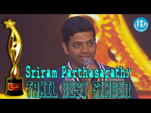 SIIMA 2014 - Tamil Best Singer (Male) - Sriram Parthasarathy - Aanandha Yazhai Song