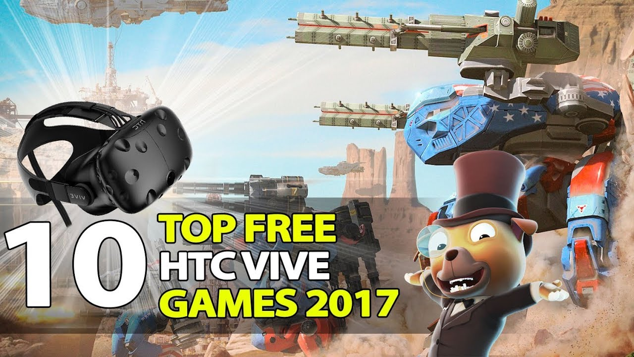 how to download free games htc vive