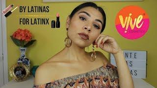 Vive Cosmetics Lipstick Review 💄 | Latina Makeup 💋