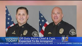 Ex-Fullerton Police Chief, Captain To Face Judge In Paramedic Attack