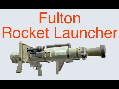 MGSV: Phantom Pain - Fulton Rocket Launcher (FB MR R-L FLTN)