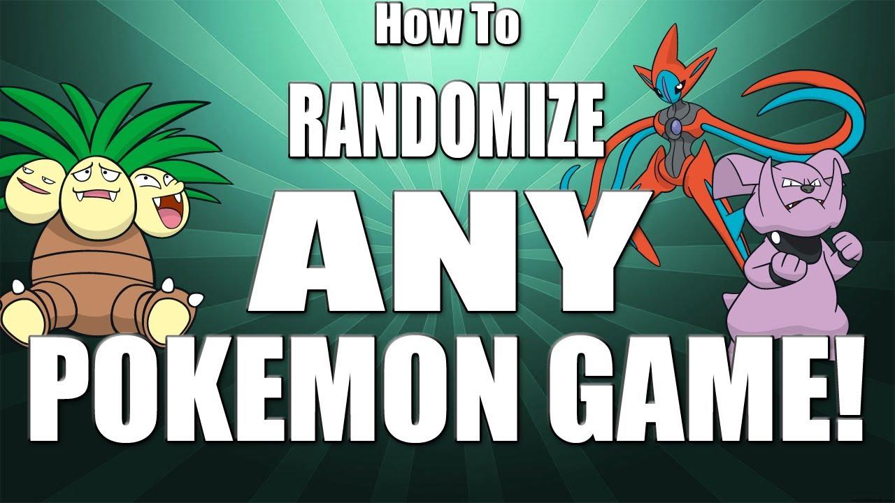 How To Randomize Any Pokemon Game Youtube