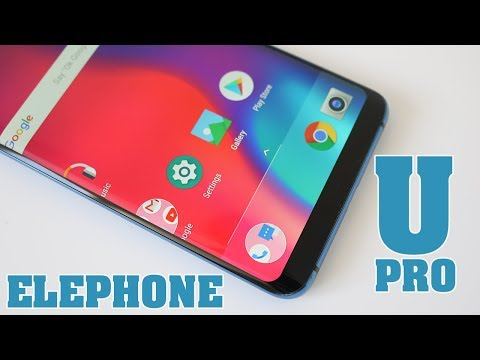 Elephone U Pro Unboxing & First Impressions - Flexible Display