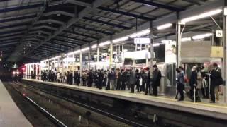 京急2100形セガトレインwing号川崎駅通過