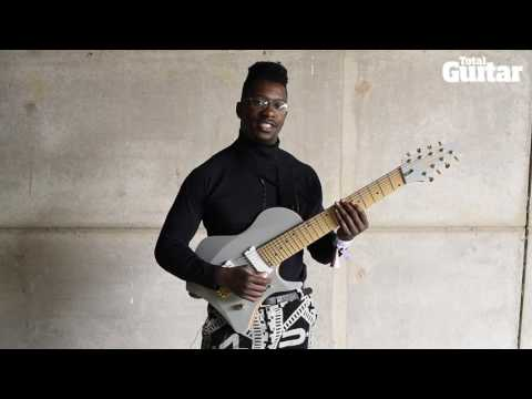 Me And My Guitar: Tosin Abasi of Animals As Leaders / Ibanez signature model prototype guitar