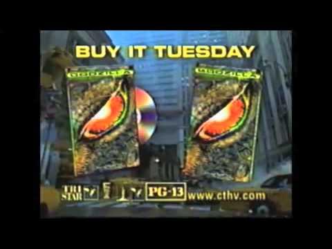 Godzilla 1998 TV Spots