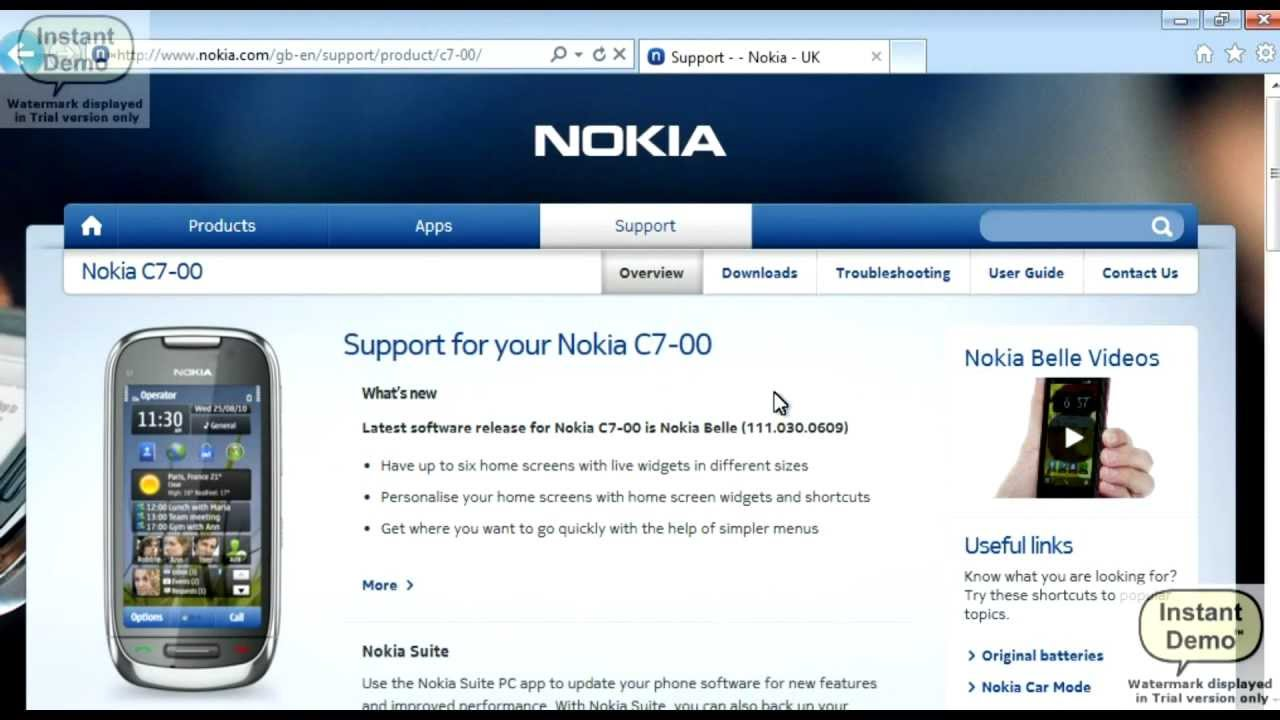 how to use nokia suite