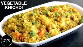 Vegetable Khichdi Recipe | Chilka Moong Dal Khichdi | Khichdi in Pressure Cooker | Khichdi Recipe
