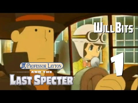 The Overeager Assistant -- Professor Layton and the Last Specter - Part 1