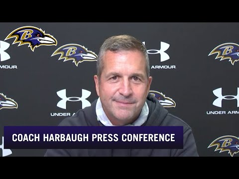 John Harbaugh Talks About Guard, Tight End Competitions | Baltimore Ravens