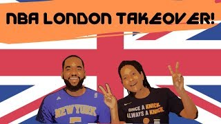 NBA London Vlog #1| The New York Knicks Take their Talents to the United Kingdom!