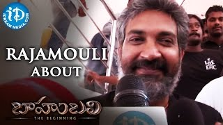 Director SS Rajamouli Response on Baahubali Movie | Prabhas | Rana | Anushka