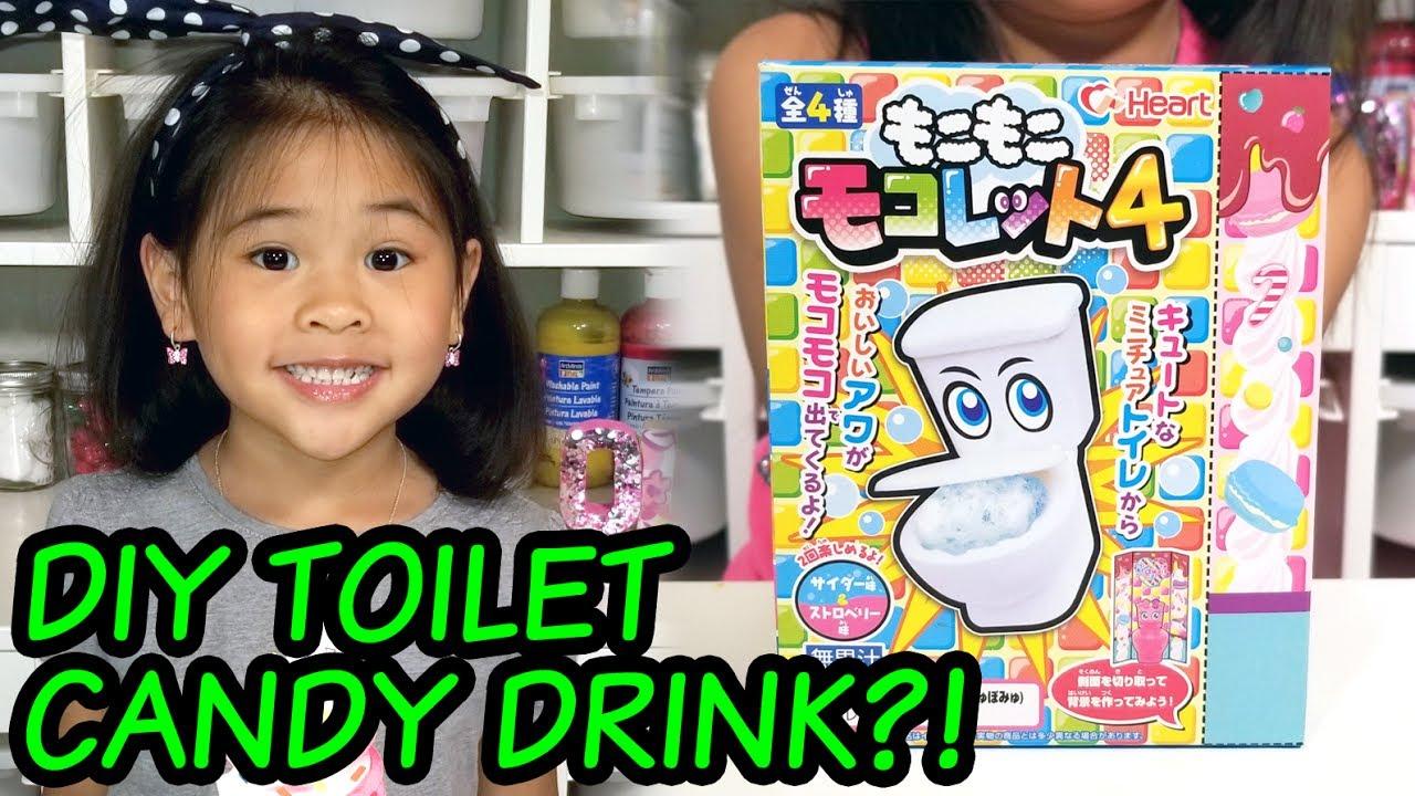 Diy Japanese Toilet Candy Drink Moko Moko Mokolet Instructions  E   E   E   E   E  A E  B E  Ac E   E